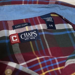 Chaps Shirts - Men's Chaps button down, easy care, Large